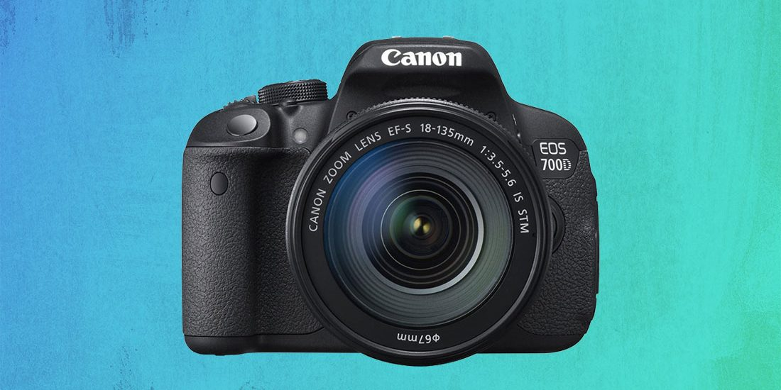 Canon EOS 700D viewed in detail
